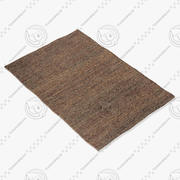 Amara Rug Smart Flat Saffron 3d model