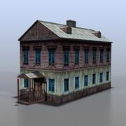 Casa da Rússia v17 3d model