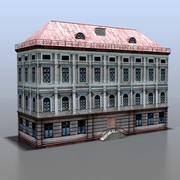 Maison de la Russie v22 3d model