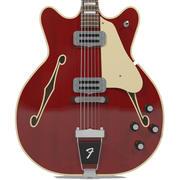 Гитара: Fender Wildwood / Coronado: отделка из красного дерева 3d model