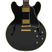 Gitarr: Gibson ES Hollow Body: Black 3d model