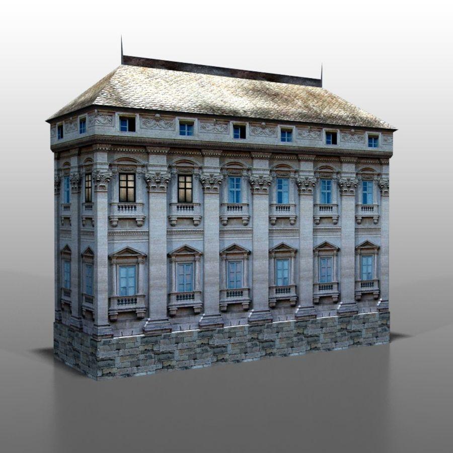 Frans huis v9 royalty-free 3d model - Preview no. 5