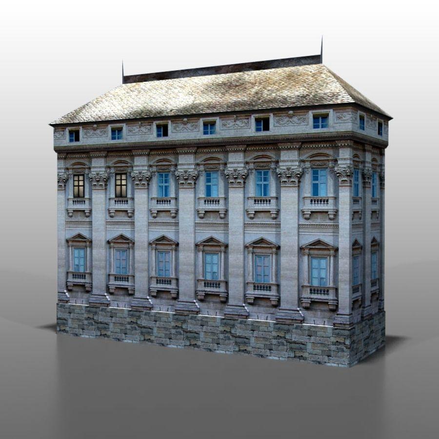 Frans huis v9 royalty-free 3d model - Preview no. 4