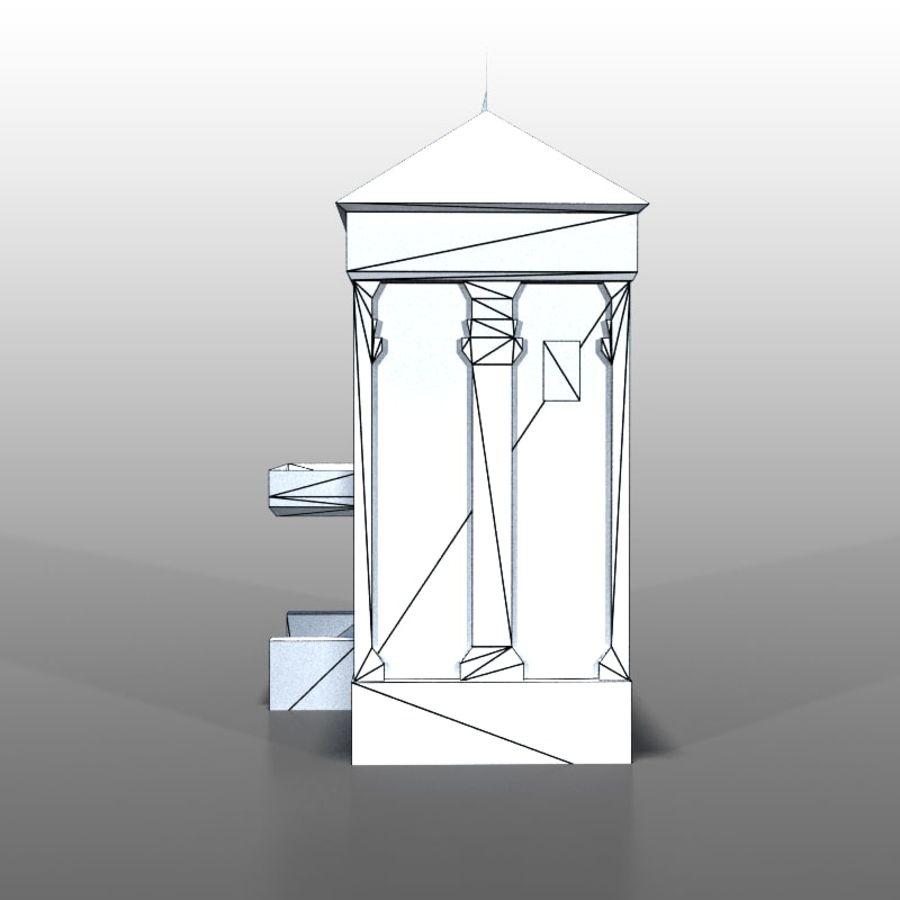 Frans huis v9 royalty-free 3d model - Preview no. 7