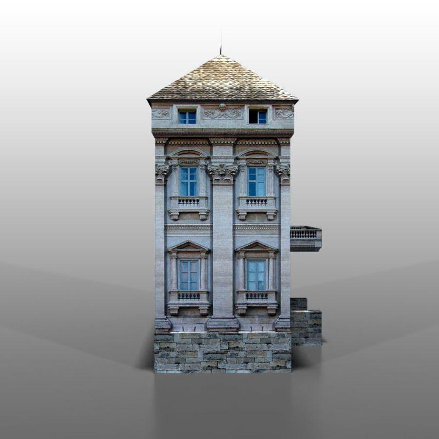 Frans huis v9 royalty-free 3d model - Preview no. 3