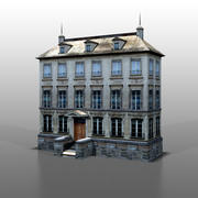 Francuski dom v12 3d model