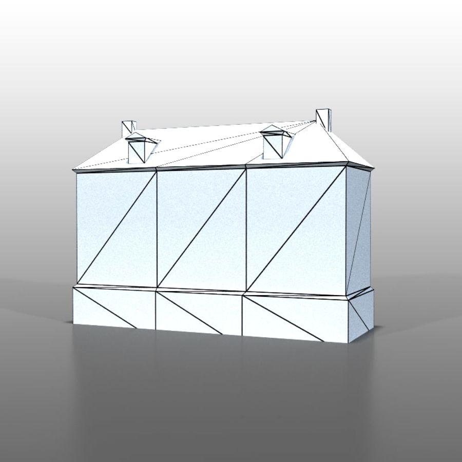 Frans huis v13 royalty-free 3d model - Preview no. 5