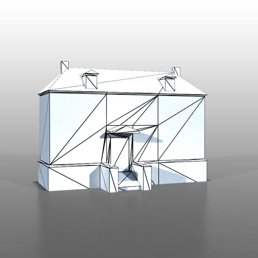 Frans huis v13 royalty-free 3d model - Preview no. 7