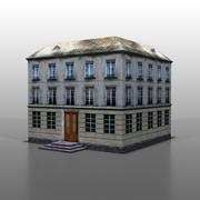 Francuski dom v14 3d model