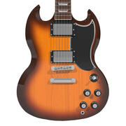 Gitarr: Gibson SG: Tobacco Sunburst Finish 3d model