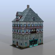 Немецкий дом v2 3d model