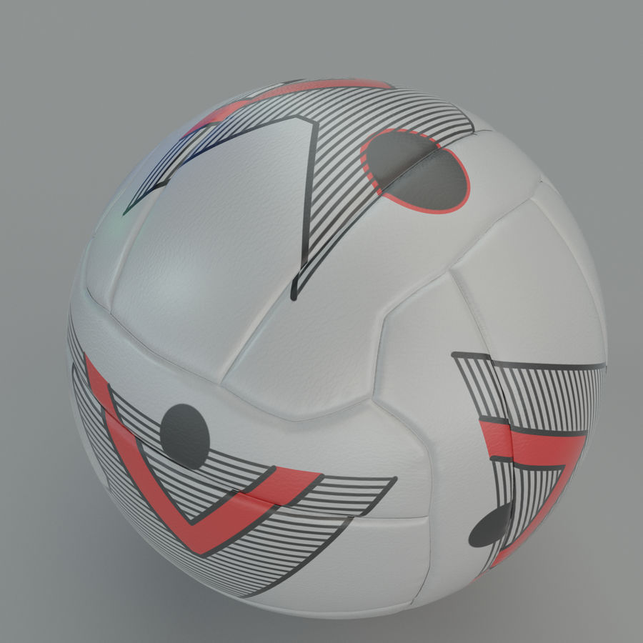 Soccer ball football 01 royalty-free 3d model - Preview no. 1