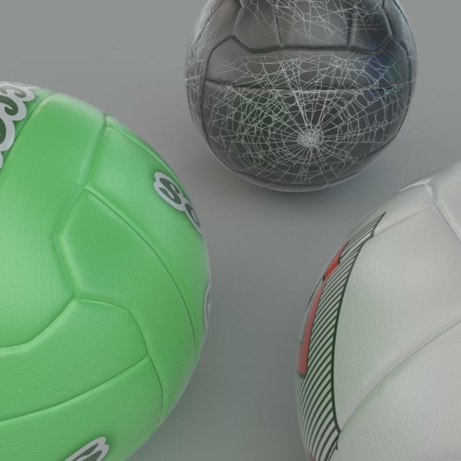 Soccer ball football 01 royalty-free 3d model - Preview no. 3