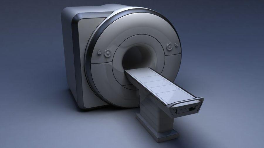 MRIスキャナー royalty-free 3d model - Preview no. 5