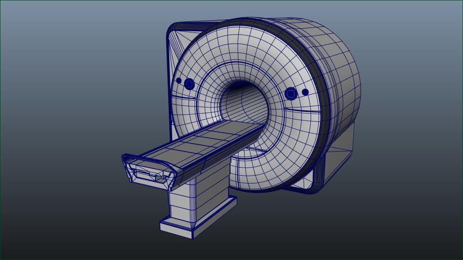 MRIスキャナー royalty-free 3d model - Preview no. 2