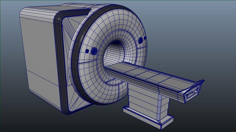 MRIスキャナー royalty-free 3d model - Preview no. 3
