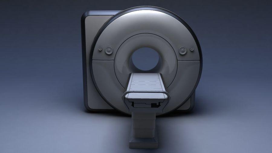 MRIスキャナー royalty-free 3d model - Preview no. 6