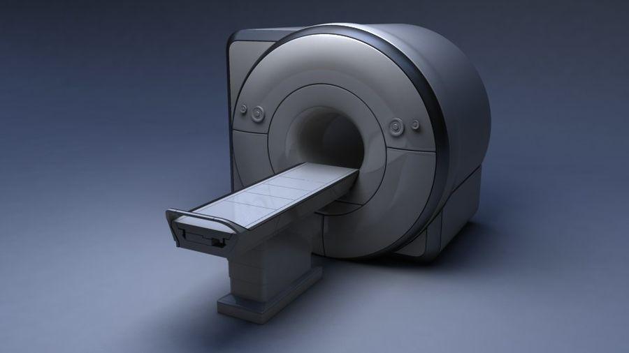 MRIスキャナー royalty-free 3d model - Preview no. 1