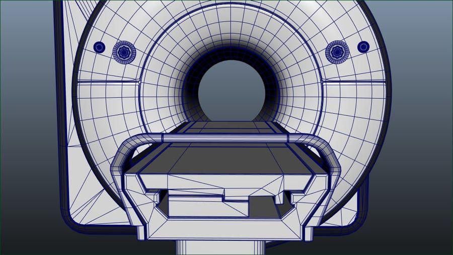 MRIスキャナー royalty-free 3d model - Preview no. 4