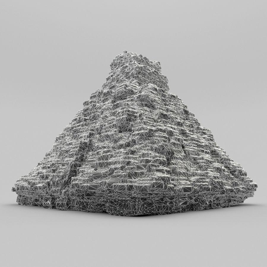 金字塔 royalty-free 3d model - Preview no. 7