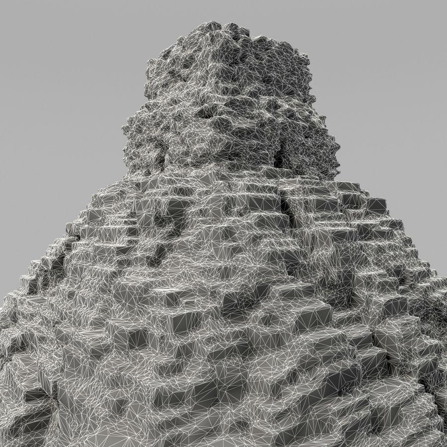 金字塔 royalty-free 3d model - Preview no. 12