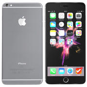 iPhone 6s Plus spacegrey 3d model