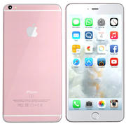 iPhone 6s Plus rosegold 3d model