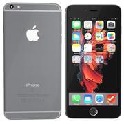 iPhone 6s spacegrey 3d model