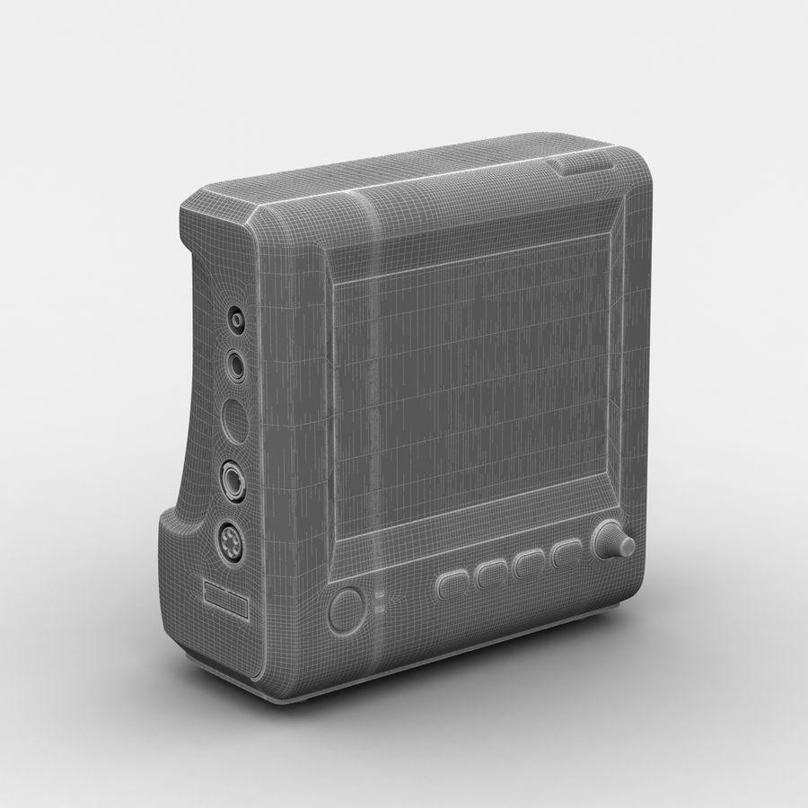 patientmätare med flera parametrar royalty-free 3d model - Preview no. 9