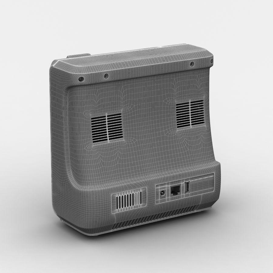 patientmätare med flera parametrar royalty-free 3d model - Preview no. 10