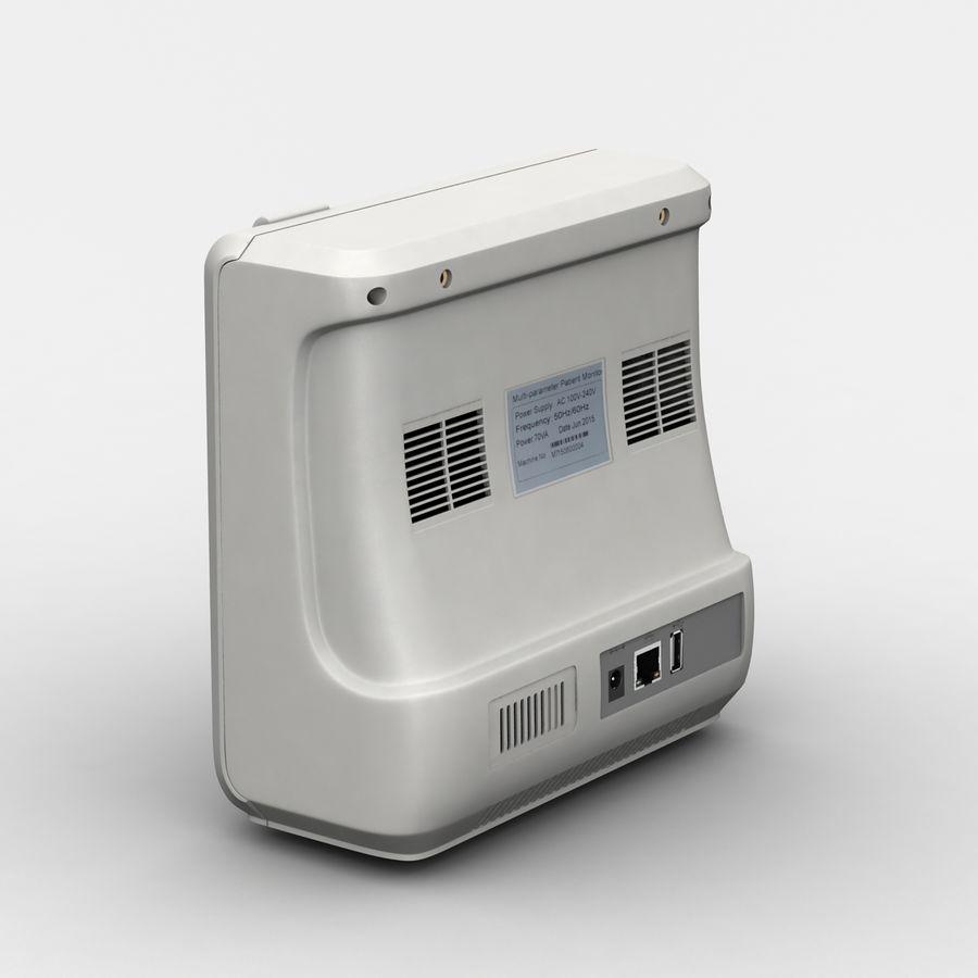 patientmätare med flera parametrar royalty-free 3d model - Preview no. 5