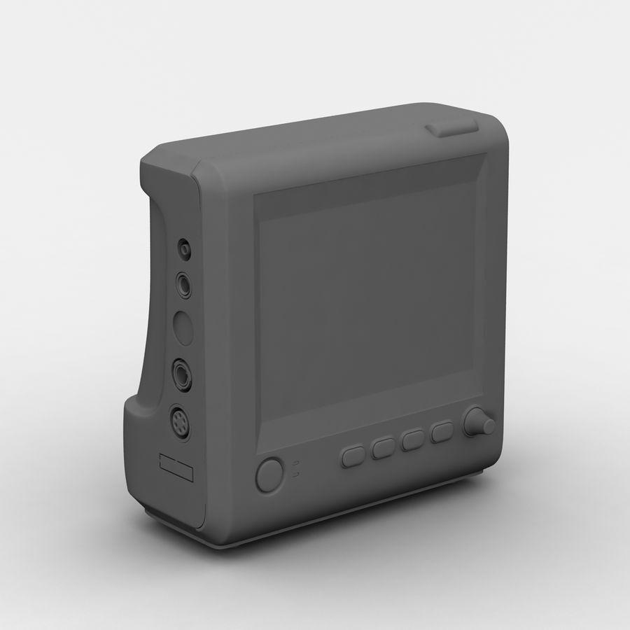 patientmätare med flera parametrar royalty-free 3d model - Preview no. 8