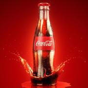 Coca Cola 350cm3 3d model