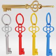 Древний старинный роскошный ключ 10 3d model