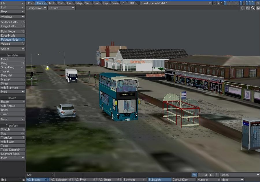 Arriva Double Decker Olympic Bus royalty-free 3d model - Preview no. 3
