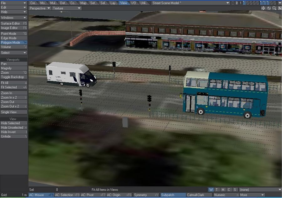 Arriva Double Decker Olympic Bus royalty-free 3d model - Preview no. 11