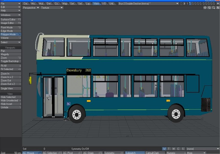 Arriva Double Decker Olympic Bus royalty-free 3d model - Preview no. 9
