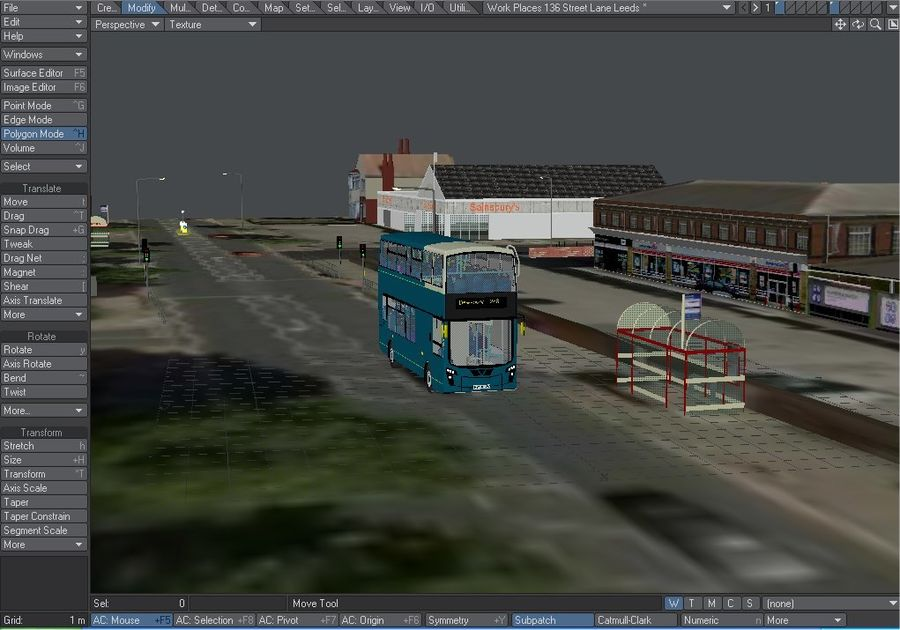 Arriva Double Decker Olympic Bus royalty-free 3d model - Preview no. 4