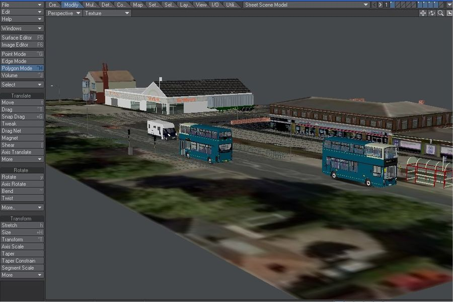 Arriva Double Decker Olympic Bus royalty-free 3d model - Preview no. 2