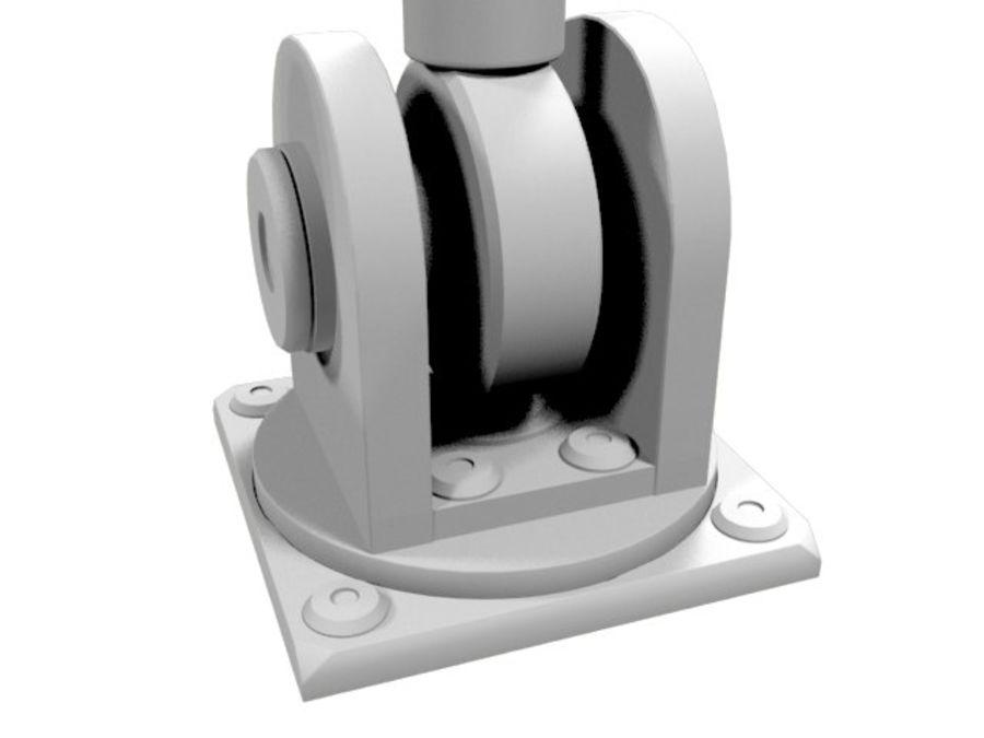 Tłok hydrauliczny royalty-free 3d model - Preview no. 3