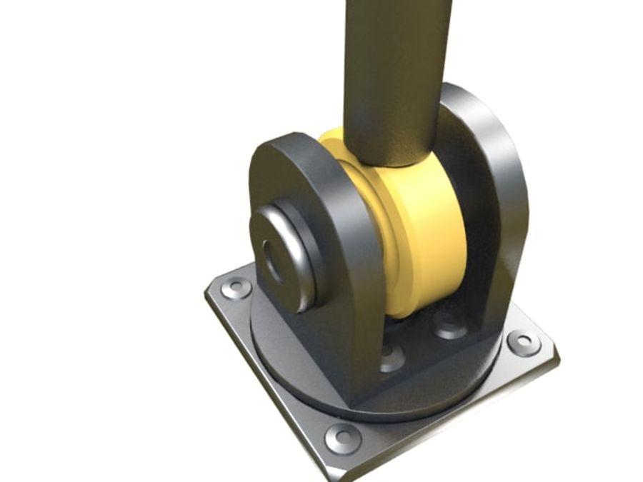 Tłok hydrauliczny royalty-free 3d model - Preview no. 8