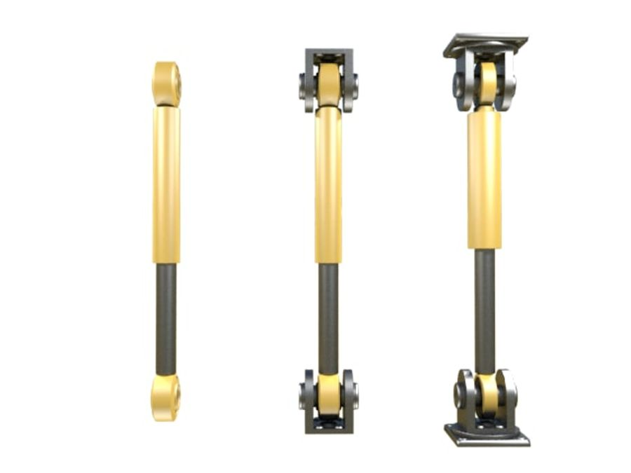 Tłok hydrauliczny royalty-free 3d model - Preview no. 2