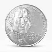 Nickel Coin 3d model