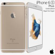 Apple iPhone 6s Plus Gold 3d model