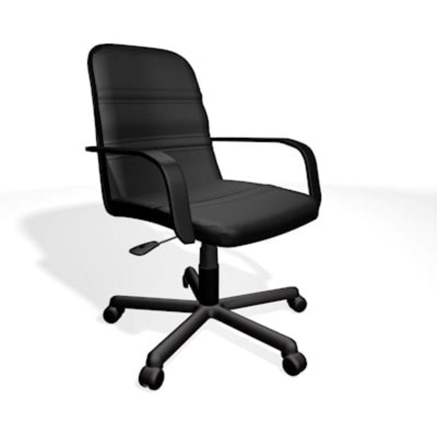Sedia della scrivania royalty-free 3d model - Preview no. 1