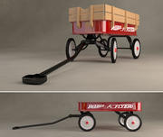 Radio Flyer Wagon 3d model
