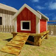 Chicken House 3d model