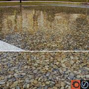Lake Pebbles 3d model