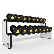 Dumbbell Rack Horizontal 3d model