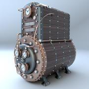 Chaudière à vapeur 3d model
